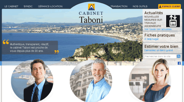 Immobilier Nice Interview Cabinet Taboni